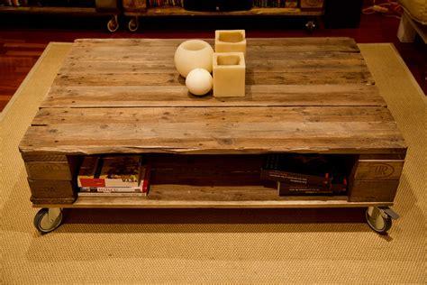Mesa hecha con palets - Eisenheim - Paletos