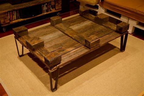 Mesa hecha con palets - Jules - Paletos