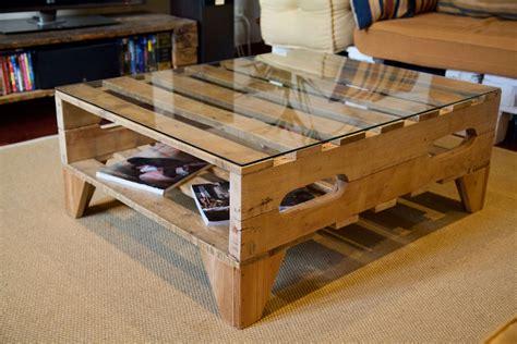 Mesa hecha con palets - Logan - Paletos