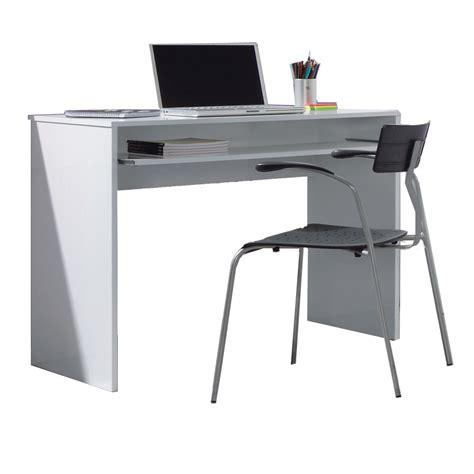 Mesa Ordenador estudiante en color blanco brillo IJOY