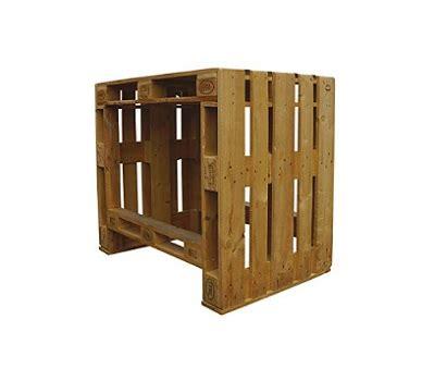 Mesa para jardín hecha con palets | Comprar Palets Ya