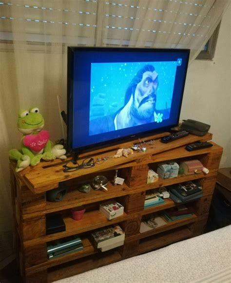 Mesa Para Tv Palet /muebles Rusticos - $ 1.000,00 en ...