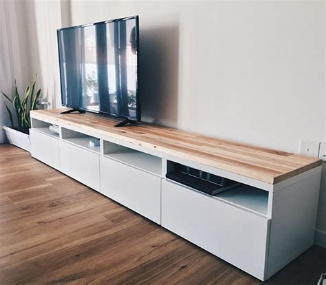 Mesas Television Ikea. Ikea Hack Featuring Chalk Paint By ...