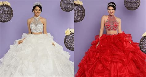 Mesmerizing Two Piece Quinceanera Dresses