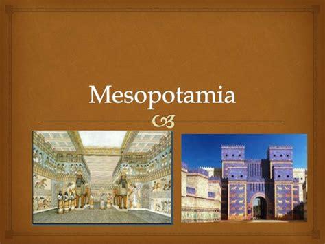 Mesopotamia: La Cuna de las Civilizaciones