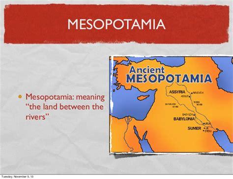 Mesopotamia/Sumeria Slideshow