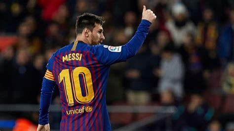 Messi llega a 400 goles en La Liga española en victoria ...