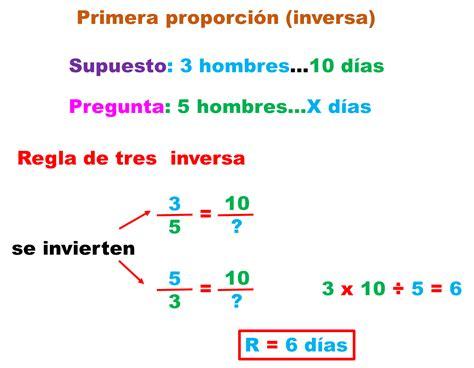 métodos para resolver regla de tres | matematicas para ti