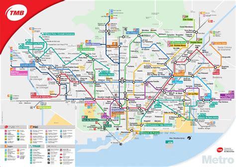 Metro Barcelona - Actuele metrokaart Barcelona | Zoover