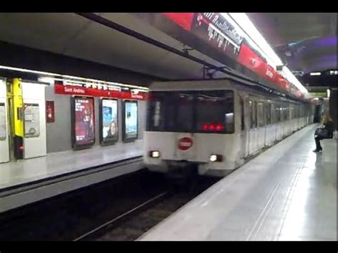 Metro de Barcelona: Sant Andreu L1 - YouTube
