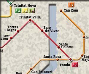 Metro Fondo Barcelone - Station de métro Fondo de ...