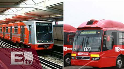 Metro y metrobús modifican sus horarios en fiestas ...