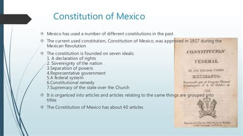 Mexican and US Government Foundations