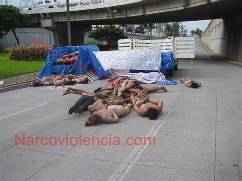Mexican Drug Cartel Killing Women   Naked Babes