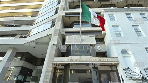 Mexican Embassy In Washington, DC Stock video footage ...