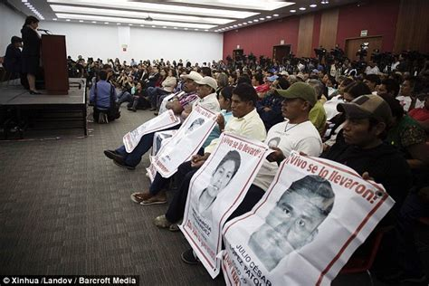 Mexican government says 43 students who went missing were ...