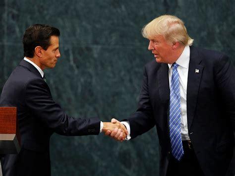 Mexican President Peña Nieto Congratulates Trump