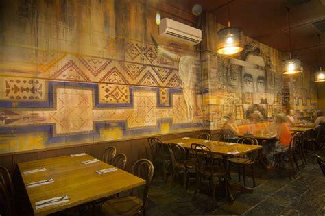 Mexican Restaurant Interior Wall Art   Set It Off Decor