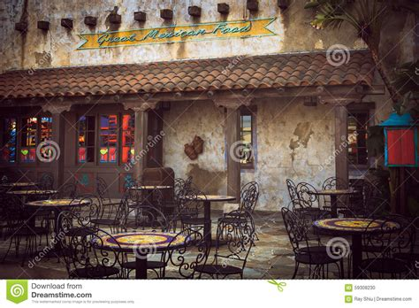 Mexican restaurant stock photo. Image of restaurant, west ...