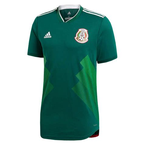 Mexico 2018 Home Soccer Jersey FIFA World Cup [1152863 ...