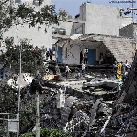 Mexico City earthquake: 7.1 magnitude strikes Mexico ...