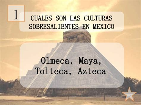 Mexico - Culturas mesoamericanas