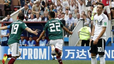México da la sorpresa y derrota a la campeona Alemania en ...