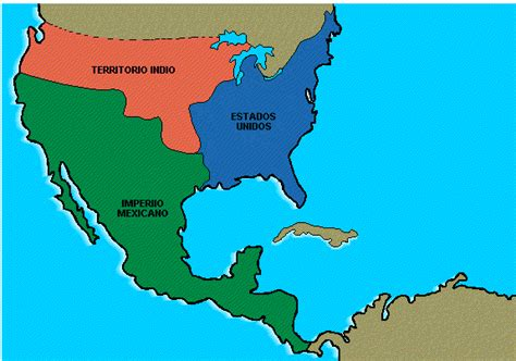 Mexico en 1821 by 3D4D on DeviantArt