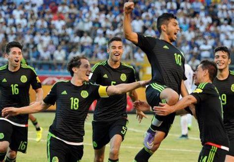 México invictos mundial Rusia 2018 futbol selección ...