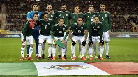 México jugará su primer partido del Mundial Rusia 2018 ...
