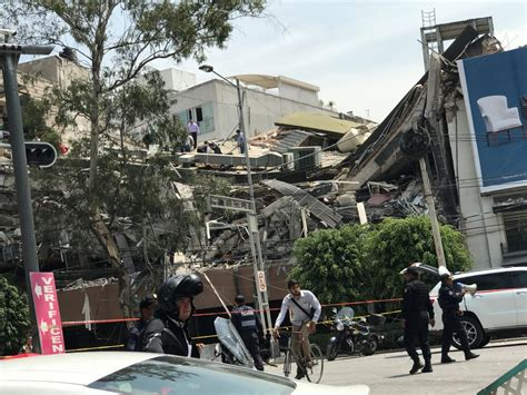 Mexico: Magnitude 7.1 Earthquake Kills Dozens - Gazette Review