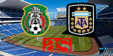 México vs Argentina; Amistoso Sub 23  0 0 : Resumen del ...