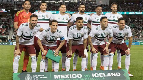 México vs Croacia: Elige la alineación titular de México ...