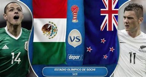México vs Nueva Zelanda en vivo 2017 gratis por Internet ...