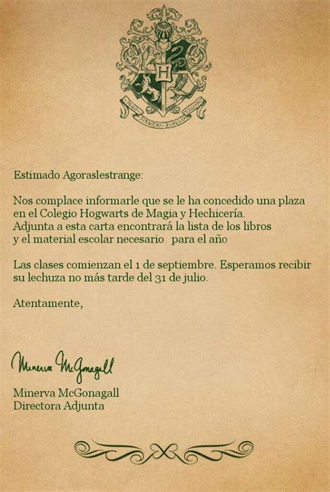 Mi carta de hogwarts   •Harry Potter• Español Amino