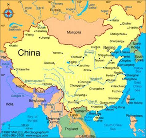 mi clase de interculturalidad: Situación geográfica de China