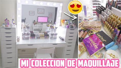MI COLECCION DE MAQUILLAJE - YouTube