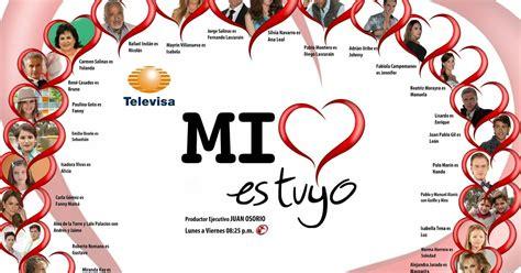 Mi corazón es tuyo, conoce el elenco ~ Tv Novelas Magazine