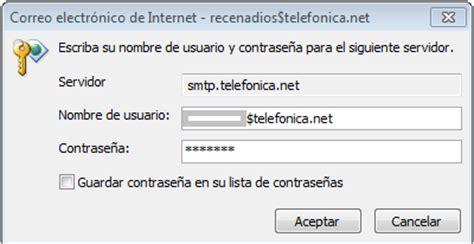 Mi correo telefonica.net no envia correos   Comunidad ...