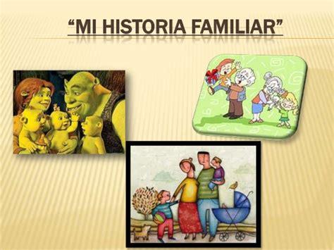 Mi historia familiar