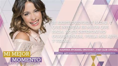 Mi mejor momento | Violetta + LETRA. - YouTube