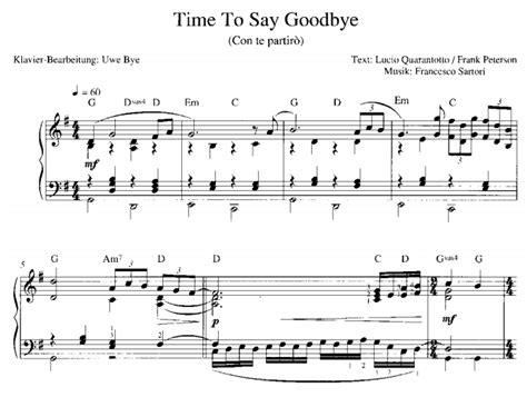 Mi Partitura Gratis para Piano en PDF My Free Sheet Music ...