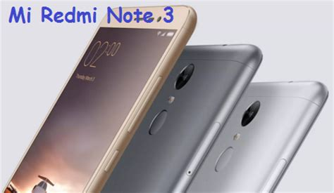 Mi Redmi Note 3 Mobile Registration to Buy Online: Xiaomi ...