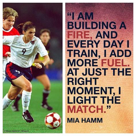 Mia Hamm | AA Soccer/ Futbol | Pinterest | Fútbol, Textos ...