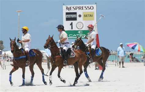 Miami Beach Polo World Cup: Pferdepolo am Strand aus Miami ...