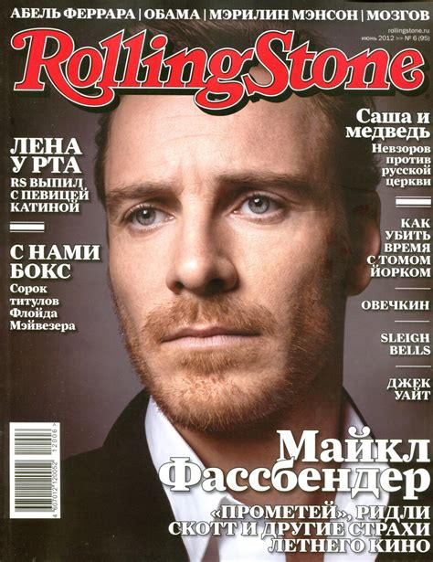 Michael Fassbender images Rolling Stone  Russia  magazine ...