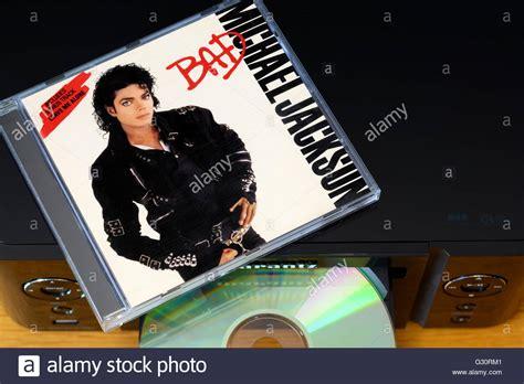 Michael Jackson Album Bad, music centre and CD case ...