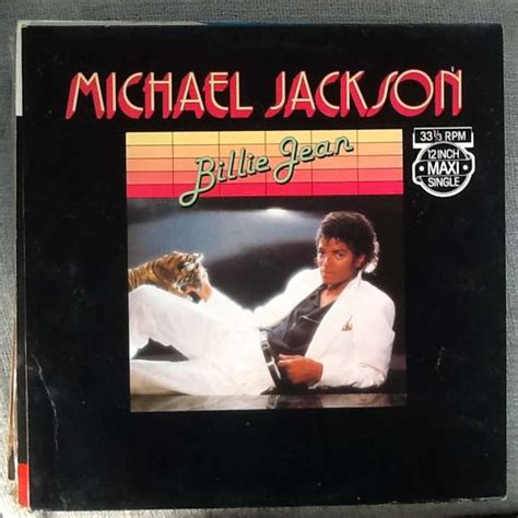 MICHAEL JACKSON billie jean, 12 INCH 45 RPM for sale on ...