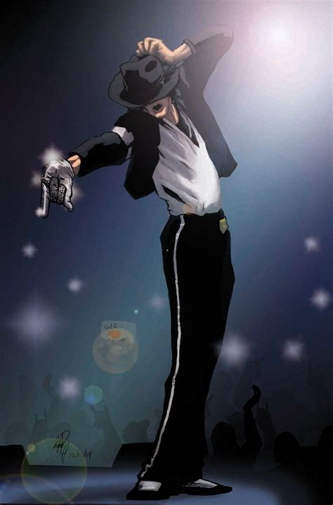 Michael jackson Billie Jean anime   MJ FS   Pinterest   El ...