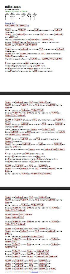 Michael Jackson Billie Jean Lyrics | Song Billie Jean by ...